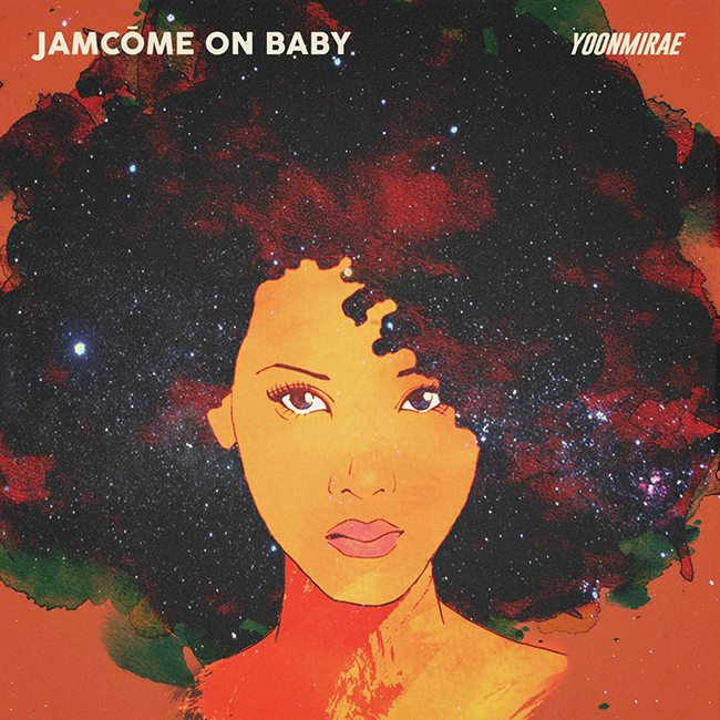 尹美莱《JamCome On Baby》封面照(来源:Feel Ghood Music@Facebook)